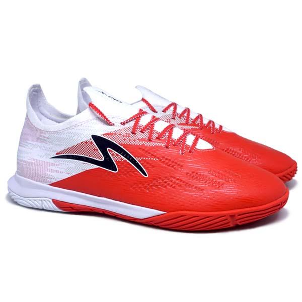 Sepatu Futsal Specs Accelerator Alpha Elite IN - GARUDA - Patriot Red/White