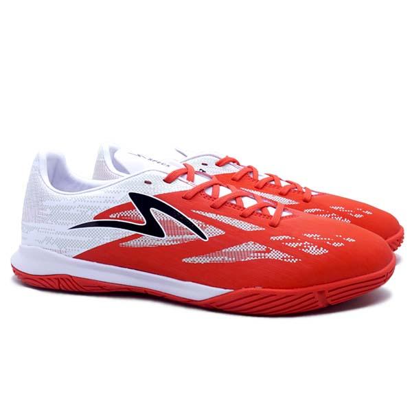 Sepatu Futsal Specs Accelerator Alpha Pro IN - GARUDA - Patriot Red/White