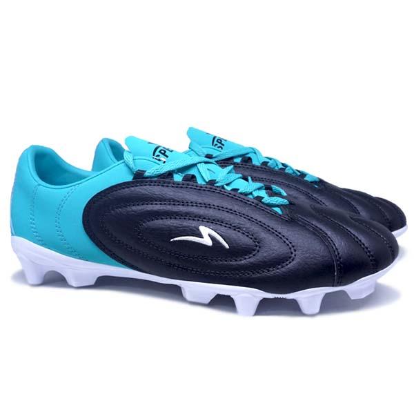 Sepatu Bola Specs Barricada Fuerza Pro FG - Black/Aqua/White