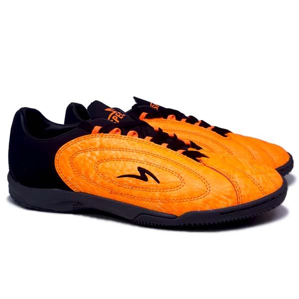 Sepatu Futsal Specs Barricada Fuerza Pro IN - Dwan Orange/Noir/Black