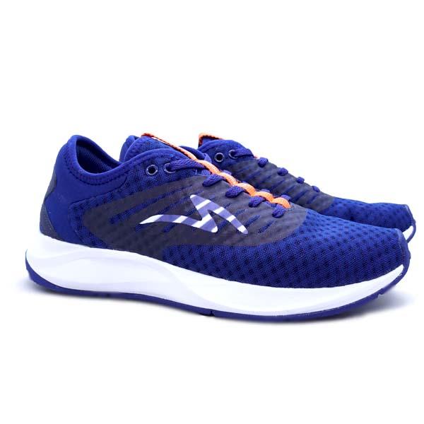 Sepatu Running Specs Ultradrive - Navy/Dress Blue/Orange