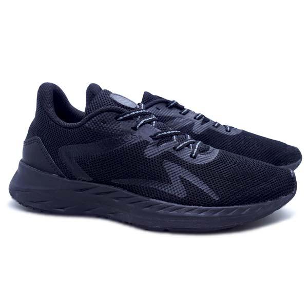 Sepatu Running Specs Enerbeast - Black/Charcoal