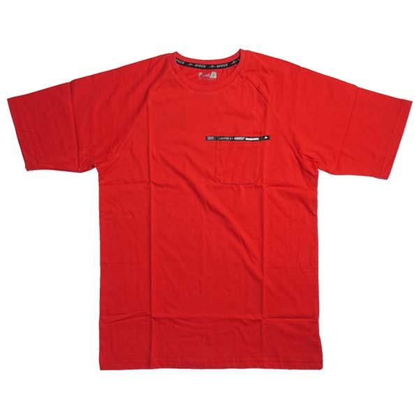 Baju Specs Hawkish Oversized Tee (M) - Lava Red 2035C