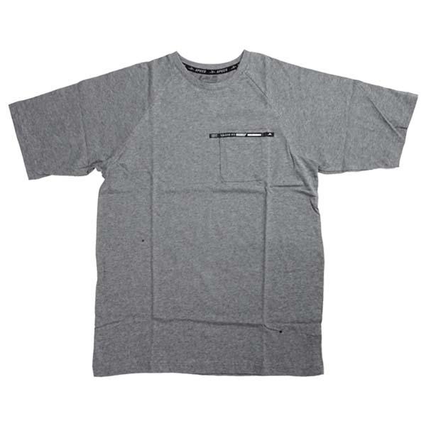 Baju Specs Hawkish Oversized Tee (M) - Misty Grey M79