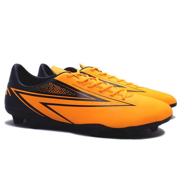 Sepatu Bola Specs Hyperspeed FG - Mango Orange/Black