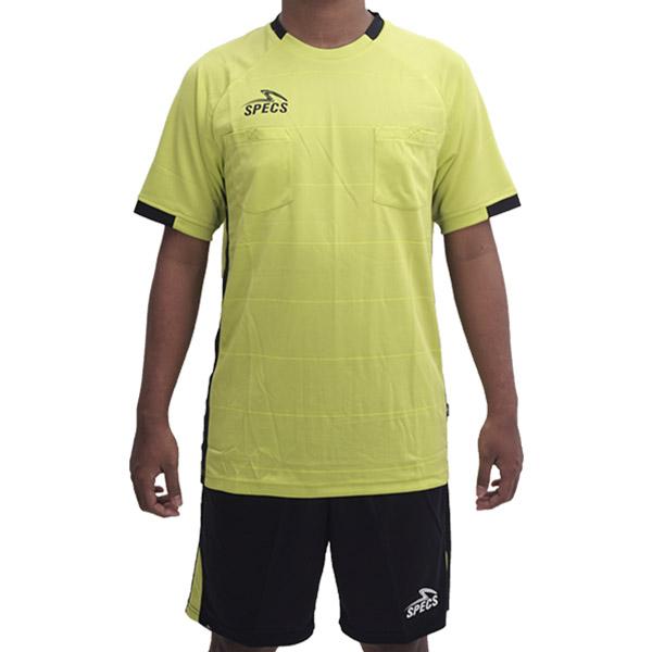 Baju Wasit Specs Juste Referee Sets - Sulpur Green/Black