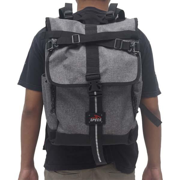 Tas Specs Legion Backpack - Heather Light Grey
