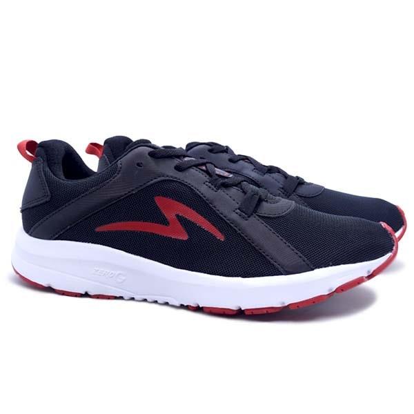 Sepatu Running Specs Lightstreak - Black/White/Red