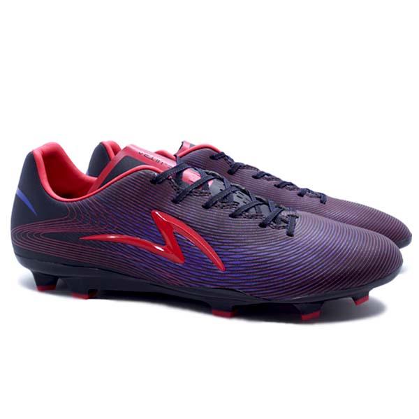 Sepatu Bola Specs Ls Ultra FG - Black/Cell Red