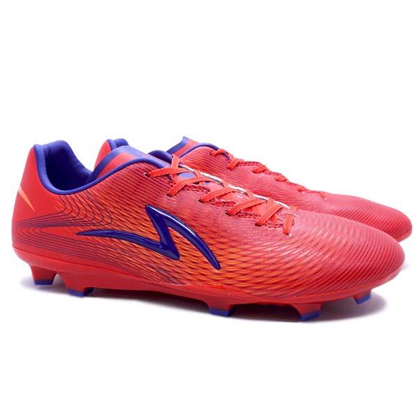 Sepatu Bola Specs Ls Ultra FG - Rising Red/Solar Orange