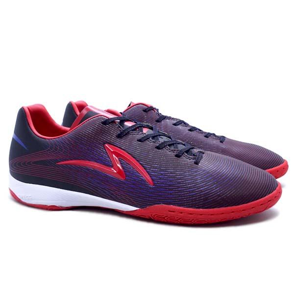 Sepatu Futsal Specs Ls Ultra IN - Black/Cell Red