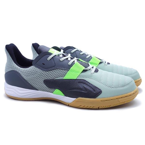 Sepatu Futsal Specs Metasala Void - Cloud/Dust/Green Gecko