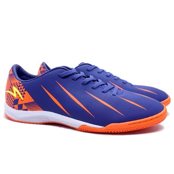 Sepatu Futsal Specs Orion IN - Navy/Shocking Orange/Safety Yellow