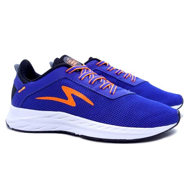 Sepatu Running Specs Skyfleet - Black/Lapis Blue