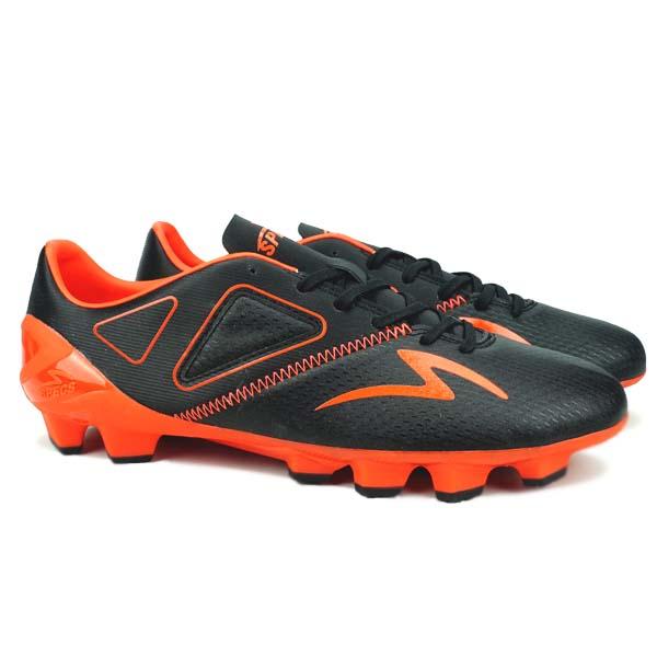 Sepatu Bola Specs Viper FG - Black/Bright Red