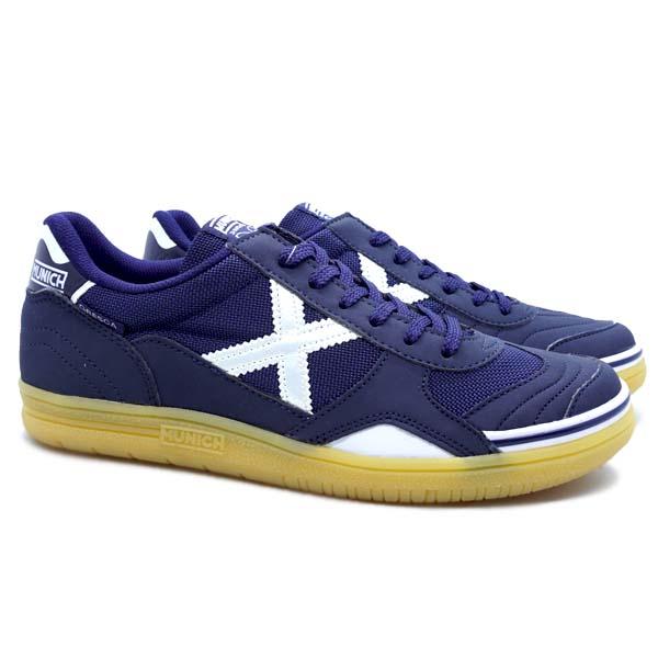 Sepatu Futsal Munich Gresca 07 3000613 - Navy