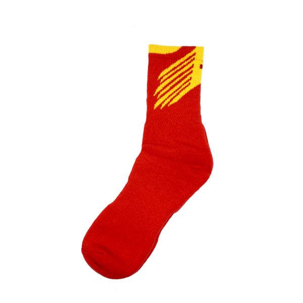 Kaos Kaki Yonex SSLE 1803S-S - Red/Yellow