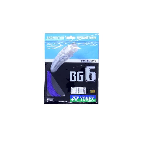 Senar Raket Badminton Yonex BG 6 - Royal Blue