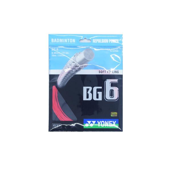 Senar Raket Badminton Yonex BG 6 - Red