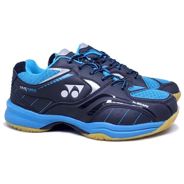 Sepatu Badminton Yonex Tour Force - Black/Blue