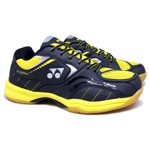 Sepatu Badminton Yonex Tour Force - Black/Yellow