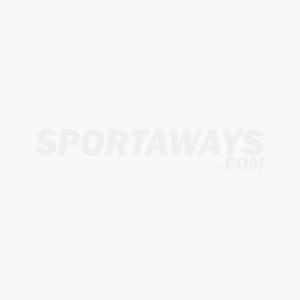 Sepatu Futsal Lotto Severe IN - Black/Metalic Gold/White