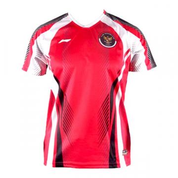 Jersey Li-Ning Olympic T-shirt ATSR580-1 - Red
