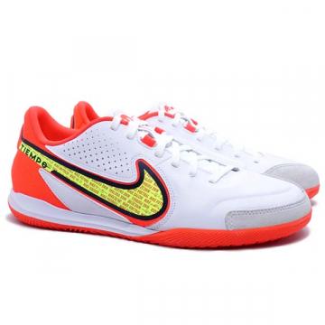 Sepatu Futsal Nike Legend 9 Academy IC DA1190 176 - White/Volt Bright Crimson