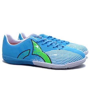 Sepatu Futsal Ortuseight Ignite IN - Cyan/Fluo Green/White