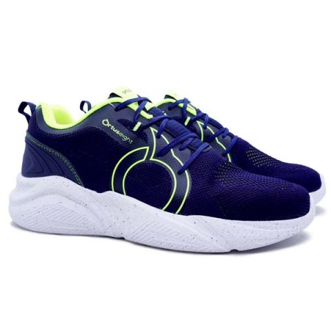 Sepatu Casual Ortuseight Mamba - Navy/Neon Green