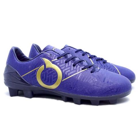 Sepatu Bola Ortuseight Sabre FG - Deep Blue/Gold