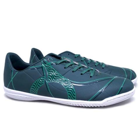Sepatu Futsal  Ortuseight Zenith IN - Dark Green/White