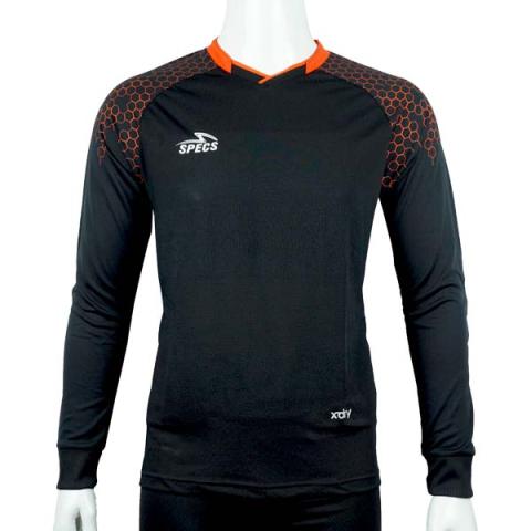 Baju Kiper Specs Exponent LS GK Jersey - Black