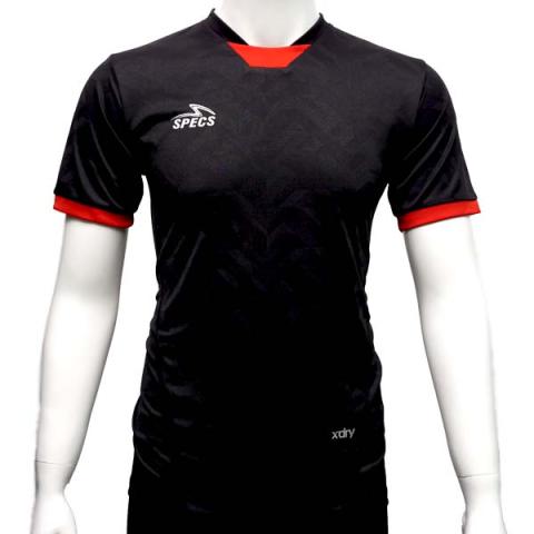 Baju Specs Galactica Jersey - Black/Red Paprika