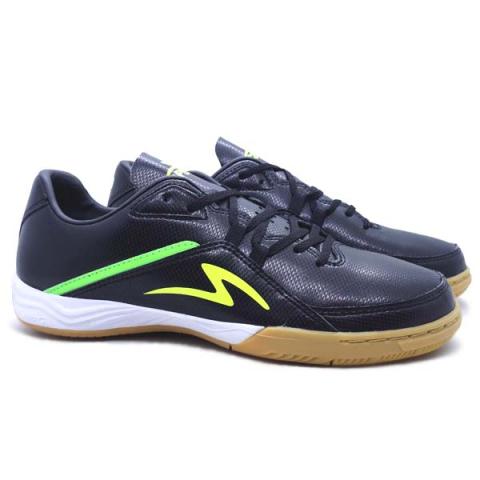 Sepatu Futsal Specs Metasala Magnum - Black/Safety Yellow