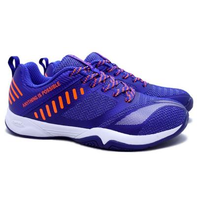 Sepatu Badminton Li-Ning Cloud Ace X - Navy/Orange