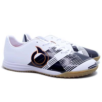 Sepatu Futsal Ortuseight Libero IN - Black/White/Ortrange