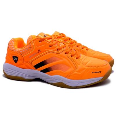 Sepatu Badminton Yonex Akayu 3 - Bright Orange/Yellow